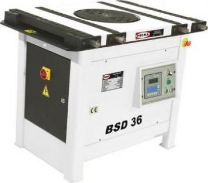 Masina de fasonat otel-beton digitala BD50 de la Proma Machinery Srl.