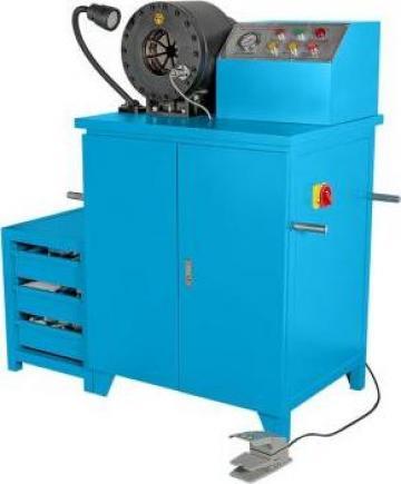 Masina de sertizat furtunuri hidraulica - HCP 72 de la Proma Machinery Srl.