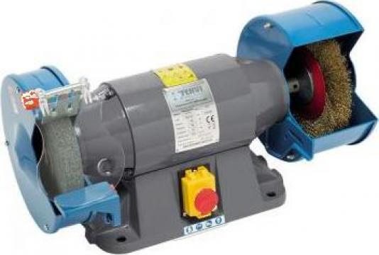 Polizor profesional de banc combinat 200 mm 0554/400V