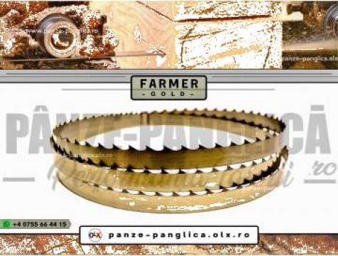 Panza panglica banzic Farmer 5200x40x1 I Lemn I Premium Gold de la Panze Panglica Srl