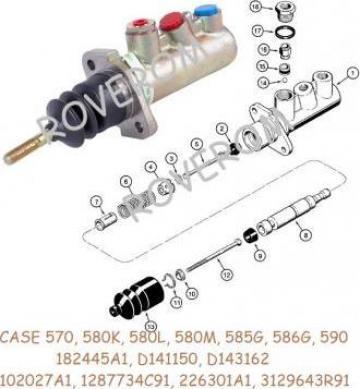 Pompa frana Case IH 580K, 585G, 590, McCormick CX90, MC115 de la Roverom Srl