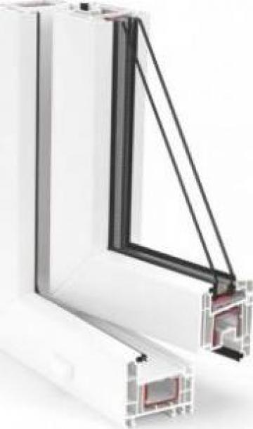 Tamplarie PVC Rehau Euro Design 70 de la Window Solution Srl