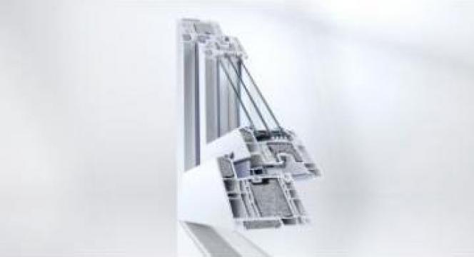 Tamplarie PVC Rehau Geneo PHZ de la Window Solution Srl