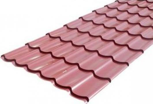 Tigla metalica Wetterbest Clasic lucios 0,5mm