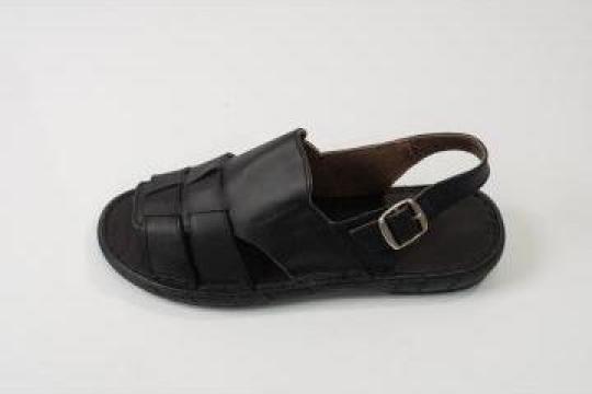 Papuci barbati din piele box 8202/1 Marikandy