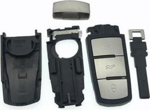 Carcasa cheie Volkswagen Passat B6 B7 Passat CC 3 butoane de la Caraudiomarket.ro - Accesorii Auto Dedicate