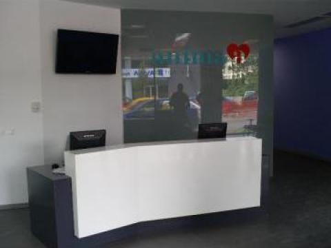 Mobilier clinica medicala de la Landscape