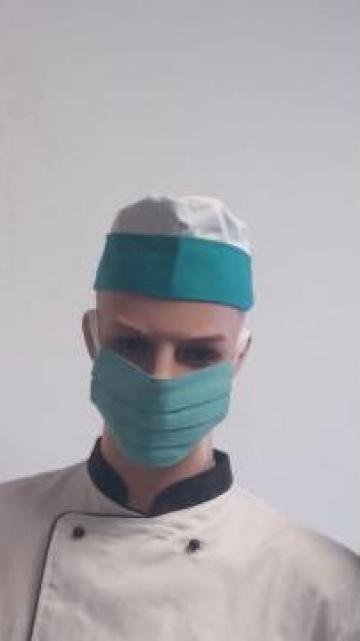 Masca chirurgicala din bumbac 2 straturi