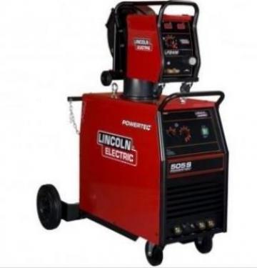 Aparat sudura Mig Mag Powertec 505S / LF24M Pro racire apa L de la Elfi Group International Srl