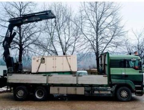 Inchiriere camion cu macara- Sibiu de la Transhan Sibiu Srl