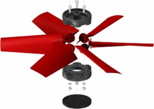 Butuc elice ventilatoare de la Andra Engineering
