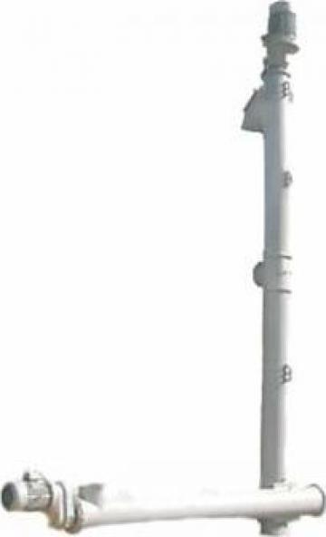 Transportoare cu snec elicoidale verticale de la Proconsil Grup Iasi
