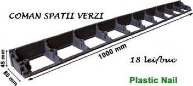 Borduri separatoare gazon profesionale, 1 m de la Coman Spatii Verzi Srl