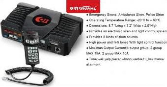Sirena digitala Politie IW2- ECO Series de la Tehnic & Emergency Light Srl