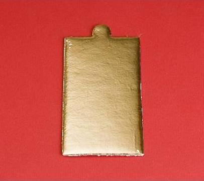 Monoportie carton auriu 9,5x5,5cm, 200 buc/set de la Cristian Food Industry Srl.