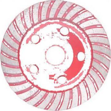 Disc de polizare diamantat cupa, cu turbo, 125 mm
