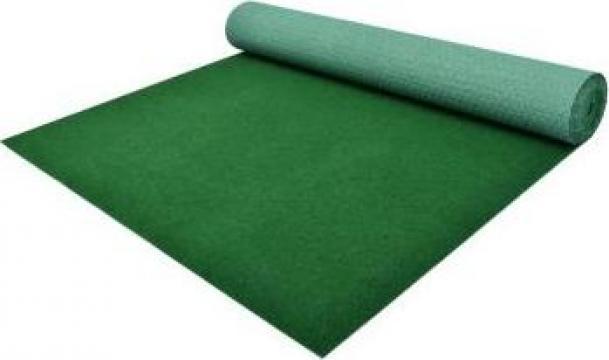 Gazon artificial cu crampoane, verde,10 x 1 m, PP de la Vidaxl