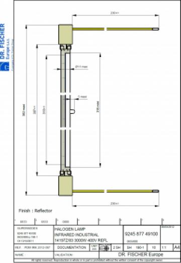 Lampa 14107z/98 Philips/Dr Fischer de la Sfera Global Trading Srl