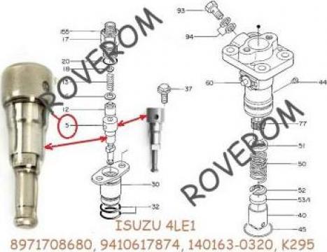 Element pompa injectie Isuzu 4LE1 (K295), Hitachi, Hyundai