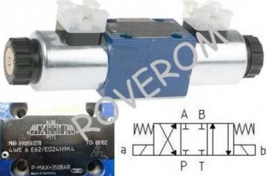 Distribuitor hidraulic cu bobine 24VDC, Bosch-Rexroth