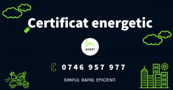 Certificat energetic de la Avest Solutions Consult