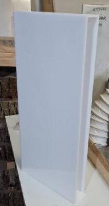 Cutie din plexiglas alb difuzant - 4mm