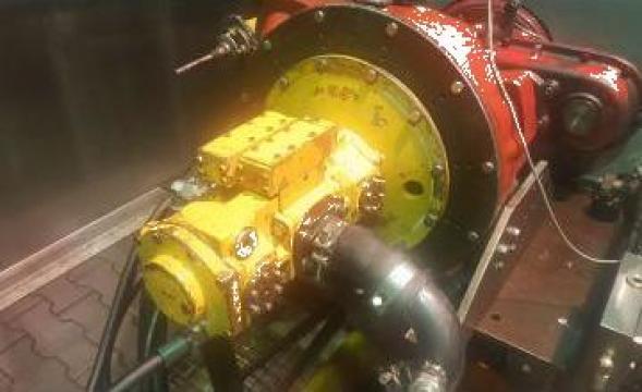 Reparatie pompa hidraulica Liebherr LPVD45 de la Roted