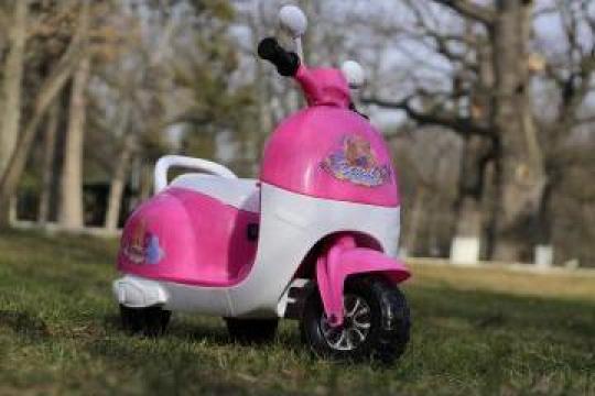 Tricicleta electrica pentru copii Princess 20W 6V de la SSP Kinderauto & Beauty Srl