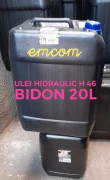 Ulei hidraulic pentru tractoare, utilaje H46 la 20 litri de la Emcom Invest Serv Srl