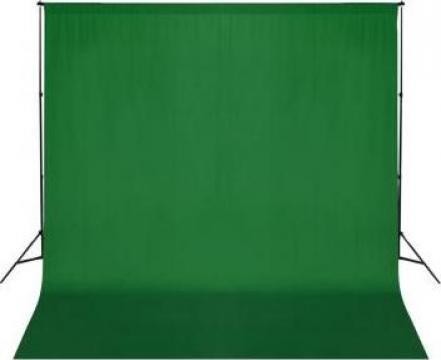 Sistem de suport fundal, 600 x 300 cm, verde