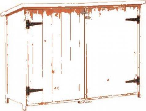 Sopron de gradina, 120 x 50 x 91 cm, lemn