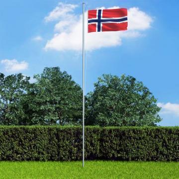 Steag Norvegia, 90 x 150 cm de la Vidaxl