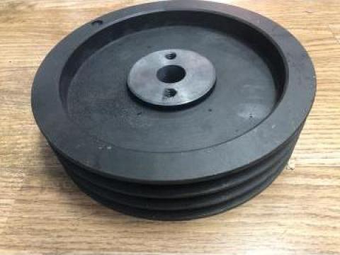 Roata curea cu 3 canale, 13 mm, SPA, diametru 200 mm de la Baza Tehnica Alfa Srl