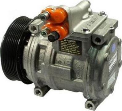 Compresor Denso/John Deere 10PA15C, PV8, 125MM, 12V de la Cool4u Solutii Climatizare Srl