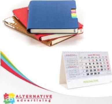Calendare/agende personalizate de la Alternative Advertising