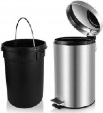 Cos de gunoi din inox 8 lt