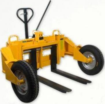 Transpalet manual pentru teren accidentat de la Adyson Innovation SRL