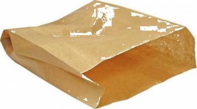 Punga din hartie pentru patiserie 15+5x21,5cm 3000 buc/bax de la Cristian Food Industry Srl.
