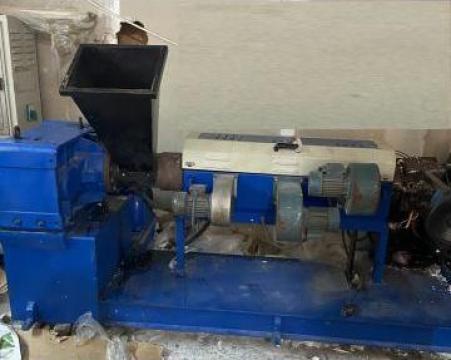 Masina de regranulat folie LDPE, HDPE - second hand