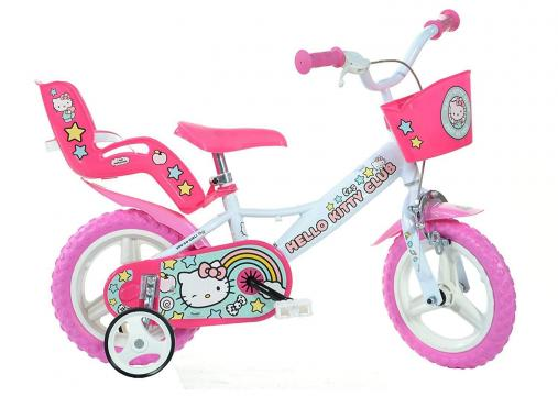 Bicicleta copii 12'' Hello Kitty de la A&P Collections Online Srl-d