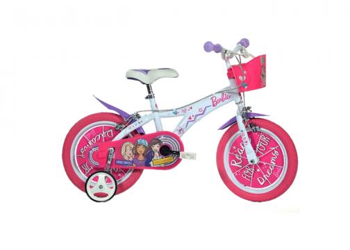 Bicicleta copii 14 - Barbie
