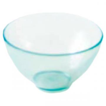 Bol de mixare din PVC, mediu (105x57mm) albastru transparent