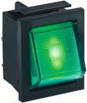 Buton verde 16A 250V