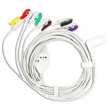 Cablu EKG cu 6 fire pentru defibrilator Corpuls 3 de la Sirius Distribution Srl
