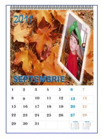 Calendar personalizat de perete CALP024 de la Apia Prest Srl