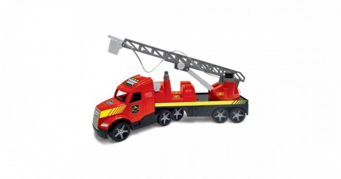 Jucarie Camion de pompieri Magic Truck fluorescent, Wader
