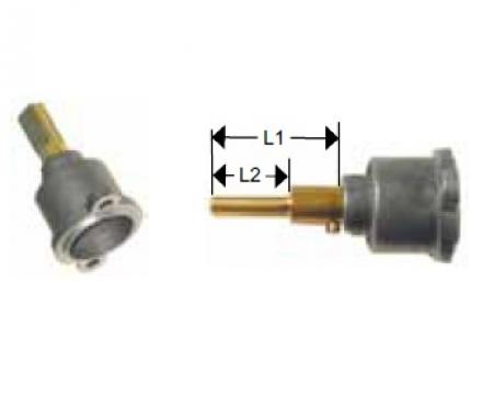 Cap robinet gaz PEL 22 lungime ax 25/17m de la Kalva Solutions Srl