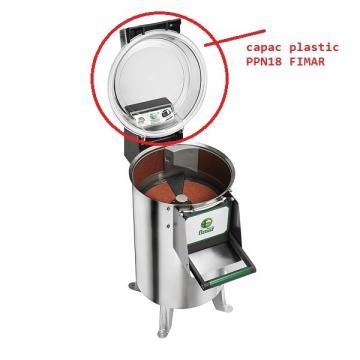 Capac plastic pentru masina curatat cartofi 430mm
