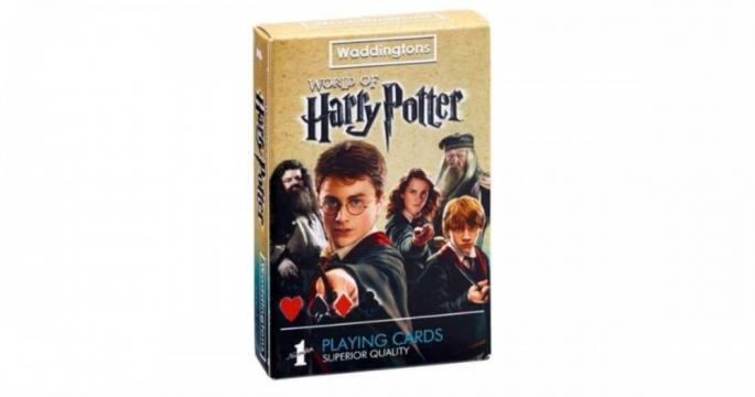 Carti de joc Waddingtons Harry Potter de la Pepita.ro
