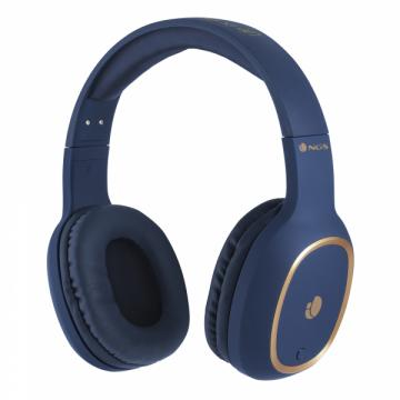 Casti Bluetooth Artica Pride albastre NGS de la Mobilab Creations Srl